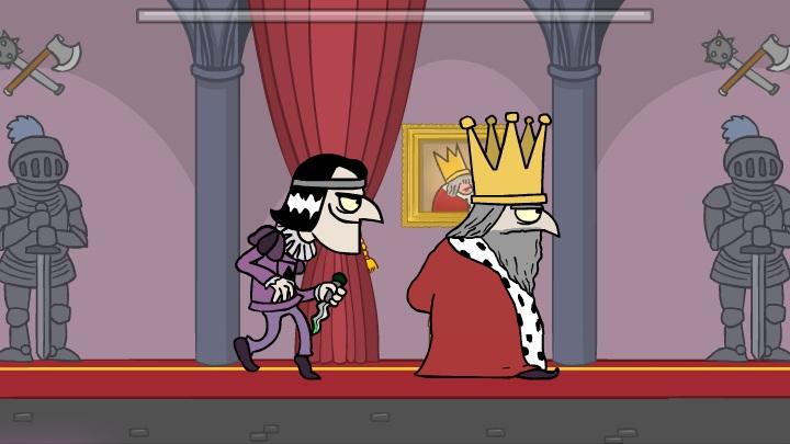 Флеш игра убийство короля