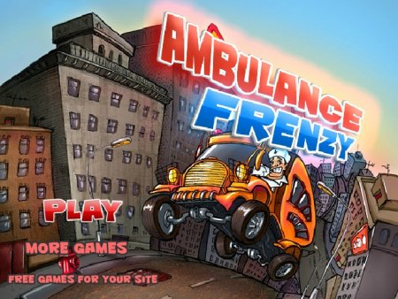 Ambulance Frenzy скриншот