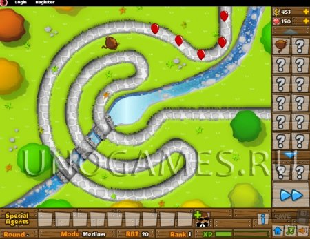 Bloons tower defence - 5 скриншот