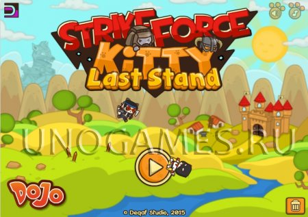 StrikeForce Kitty: Last Stand скриншот