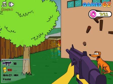 Игру The Simpsons Springfield Virtual