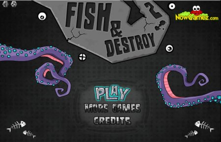 Fish and Destroy 2 скриншот