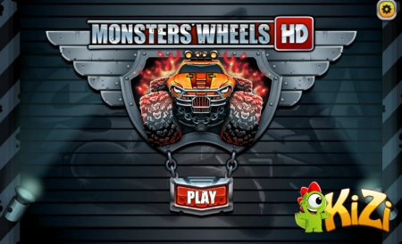 Monsters Wheels 3 скриншот